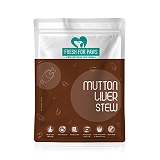Fresh For Paws Mutton Liver - 300 gm