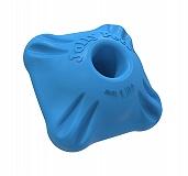 Jolly Pets Flex-n-Chew Squarable Dog Toy Medium - Blue