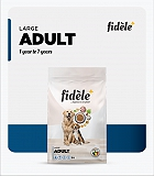 Fidele+ Adult Large Dry Dog Food - 1 Kg
