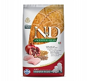 Farmina N&D Dry Dog Food Ancestral Grain Chicken & Pomegranate Puppy Medium & Maxi Breed - 2.5 Kg