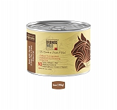 Brunos Wild Essentials Grain Free Wet Cat Food Duck with Carrot & Green Pea In Gravy - 170 gm ( 24 Cans)