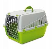 Savic Trotter 3 Pet Carrier (LxBxH - 60.5x40.5 x39 cm)- Lemon Green
