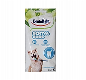Gnawlers Dentalight Small Dental Veg Bone Dog Treat - 270 gm (Pack of 3)