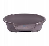 Savic Cosy Air Bed Medium - Warm Grey - (LxBxH - 78.7 x 40.6 x 25) cm