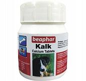 Beaphar Kalk Calcium Tablets  - 60 Tablets