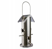 Trixie Outdoor Bird Food Dispenser Metal - Silver