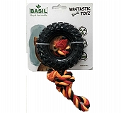 Basil Rubber Tyre with Rope