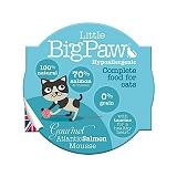 Little Big Paw Gourmet Atlantic Salmon Mousse Cat Food- 85 gm (Pack of 8)