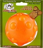 Jolly Pets  Jolly Jumper Dog Toy Orange - 7.6 cm