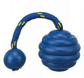 Trixie Sporting Wavy Ball on a Rope Toy