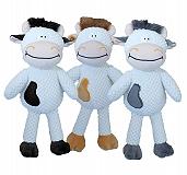 Petsport Tuff Plush Chucky Cow - 34 cm