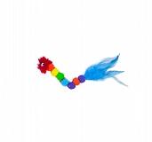Outward Hound Rainbow Caterpillar Cat Toy
