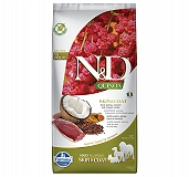 Farmina N&D Dry Dog Food Grain Free Quinoa Skin & Coat Duck Adult - 7 Kg