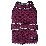 Mutt Of Course Pupberry Jacket Burgundy -4XLarge
