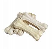 Pet en Care Rawhide Pressed Bone - 10.16 Cm- 8 Pcs