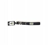 Ezra Double Thick 25 mm Dog Collar - Black