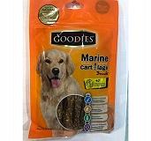 Goodies Marine Cart Lage Twisted Stick Dog Snack - 150 gm