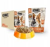 Kennel Kitchen Lamb & Vegetable Large Breed Adult  - 300 gm (28 Packs)