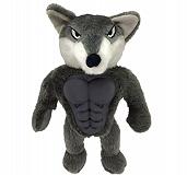 Petsport Six Packers Wolf Plush Toy - 30 cm