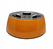 Basil Malamine Bowl Orange - Medium
