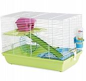 Savic Martha Triple Hamster & Guniea Pigs Cage - (LxBxH - 48 x 30 x 35.5) cm