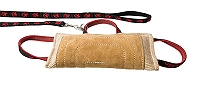 ABC Sport Klin Bite Pad Made Of Jute With Leather - 28 x 15 cm