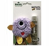 Basil Cat toy with Catnip