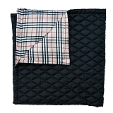 Mutt Of Course Pupberry Blanket Black - Large
