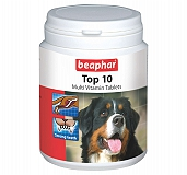 Beaphar Top 10 Multivit Dog Supplement - 60Tablets