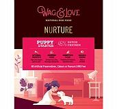 Wag & Love Nurture Starter & Small/ Medium  Breed Puppy Food - 400 gm