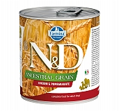 Farmina N&D Wet Dog Food Ancestral Grain Chicken & Pomegranate Adult - 285 gm (6 Cans)