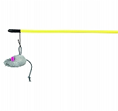 Trixie Playing Rod with Plush Mouse Cat Toy - 50 cm