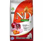 Farmina N&D Dry Dog Food Grain Free Pumpkin Chicken & Pomegranate Puppy Medium & Maxi Breed - 12 kg