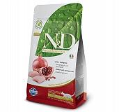 Farmina N&D Dry Cat Food Grain Free Chicken & Pomegranate Adult Neautered Cat - 300 gm