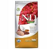 Farmina N&D Dry Cat Food Grain Free Quinoa Skin & Coat Quail Adult - 5 Kg