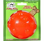 Jolly Pets  Jolly Jumper Dog Toy Orange - 10.1 cm