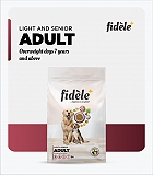 Fidele+ Adult Light & Senior Dry Dog Food - 12 Kg