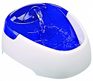 Trixie Duo Stream Automatic Water Dispenser White & Blue - 1 litre