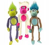 Petsport Tuff Squeaks Jungle Monkey Double Stitched -36 cm