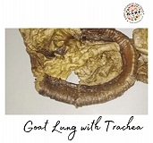 BARF Goat Lung With Trachea Dog Treat - 60 gm