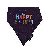Mutt Of Course Happy Birthday Bandana - Large