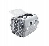 Savic Zephos 2 Open Pet Carrier (LxBxH - 56 x 38 x 33) cm- Grey