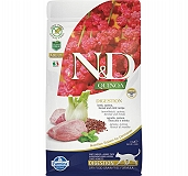 Farmina N&D Dry Cat Food Grain Free Quinoa Digestion Lamb Adult - 5 Kg (Pack Of 2)