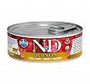 Farmina N&D Wet Cat Food Grain Free Skin & Coat Quinoa Quail & Coconut Adult - 80 gm (12 Cans)