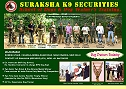 suraksha  K9 Securiti es (School of Dogs and Dog Trainers )