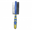 DogSpot Double Bristle Brush - Large