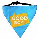 LANA Paws Good Boy Adjustable Bandana -Small & Medium