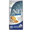 Farmina N&D Dry Dog Food Grain Free Ocean Pumpkin COD Fish & Orange Adult Medium & Maxi - 12 Kg