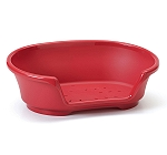 Savic Cosy Air Tub For Dog - Cranberry - (LxWxH - 35x24x10 inch)