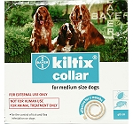Kiltix Collar for fleas and ticks Medium Bayer